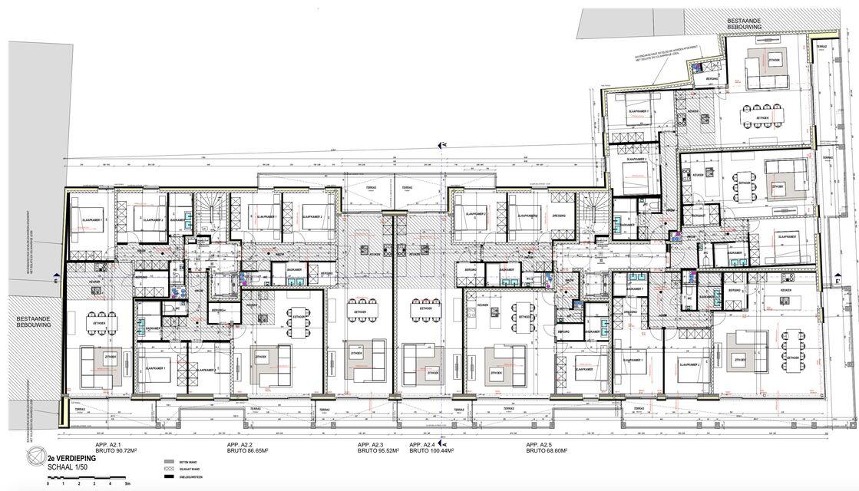 Verdieping 2 - gebouw A