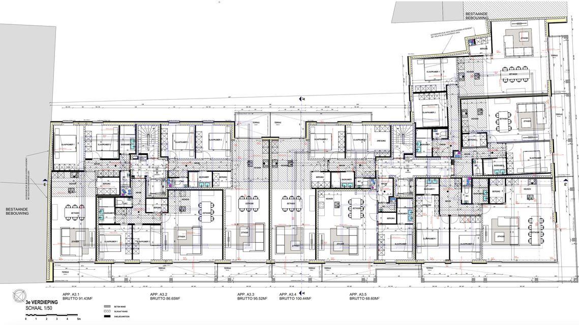 Verdieping 3 - gebouw A