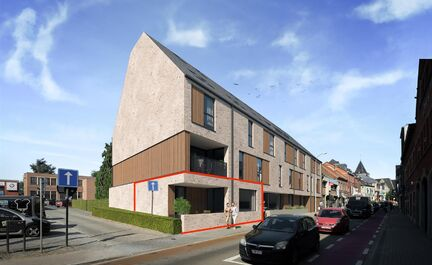 In residentie Het Kasteel komen er 18 appartementen. De architectuur is hedendaags en duurzaam. Er is ook ruimte voorzien voor een fraaie tuin en een ondergrondse parkeergarage met 28 plaatsen, 18 privébergingen en een fietsenstalling. Residentie Het Ka