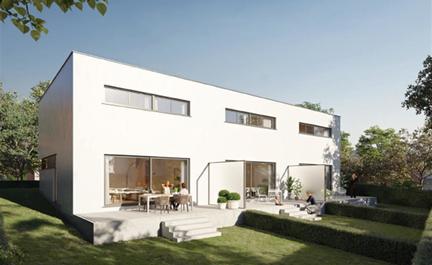 Nieuw te bouwen woning in doodlopende straat in residentiële wijk ! Deze woning bevindt zich in het centrum van Asse nabij alle faciliteiten. De woning beschikt over een voortuin, terras en tuin aan de achtergevel van de woning. Er wordt gebouwd met de l