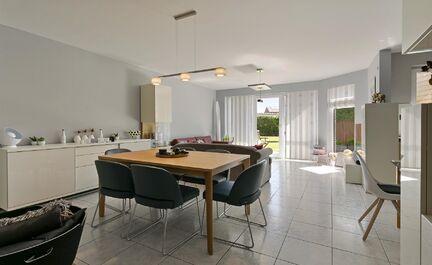 Gelijkvloerse verdieping te koop in Ninove